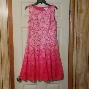 New York & Company Ombre Dress